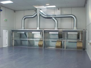 Open Face Spraybooths: