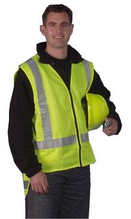 High Visibility Vests - Yellow or Orange