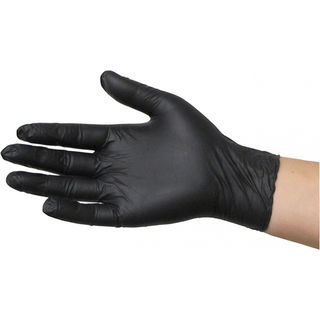 Black Dragon Nitrile Gloves - Powder Free