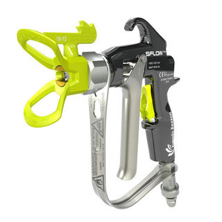 SFlow™ 275 & 450 Manual Airless Spray Gun The Airless manual pressure spray gun Sflow™ allows real product savings for industrial applications.