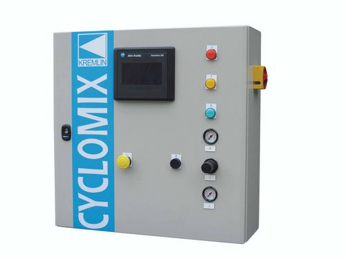 Cyclomix™ Multi This is a mid-level electronic two component system.