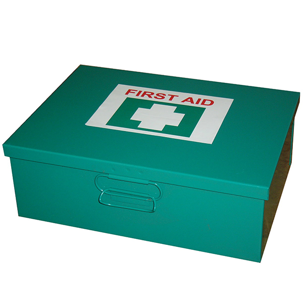 6-25 Person First Aid Kit - Metal Box Wall Mountable