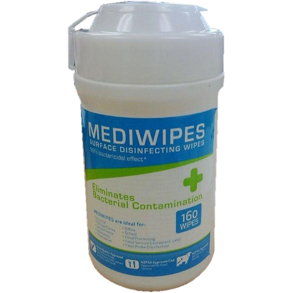 Mediwipes  -  Hand Sanitiser (Carton of 12)